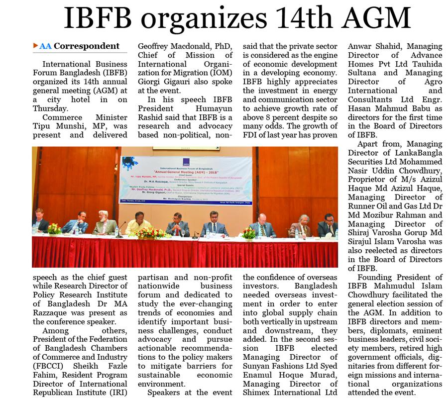International Business Forum Of Bangladesh - (IBFB)