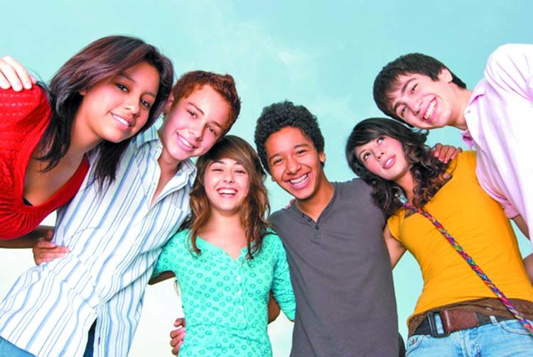 New white teens black