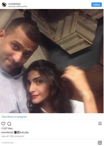 Sonam wedding: Anand's Insta post will restore your faith in magic