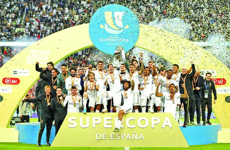 Real lift Super Cup after shootout drama