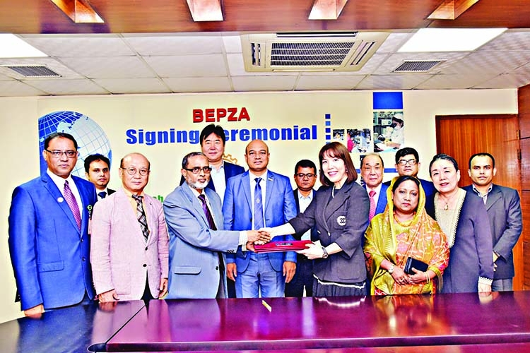 S Korean RMG company to invest $5.23m in CEPZ