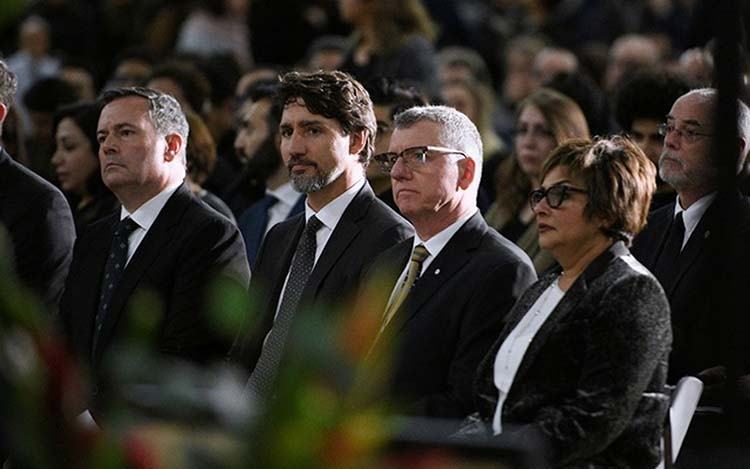 Trudeau tells Iran crash vigil he will pursue justice