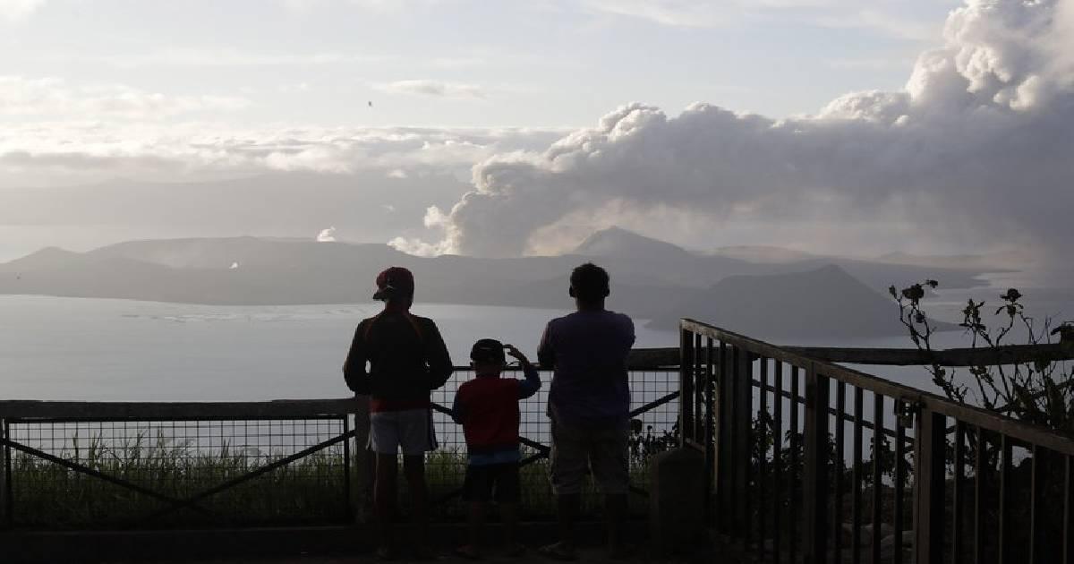 Philippine volcano spews lava, ash for 3rd day, 30,000 flee