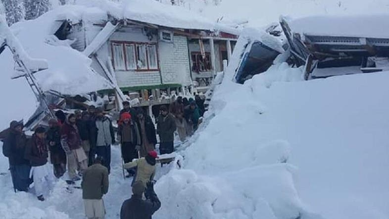 At least 57 killed in Pakistan avalanches