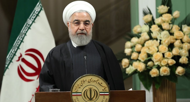 Rouhani says Iran must 'punish' all responsible for air disaster