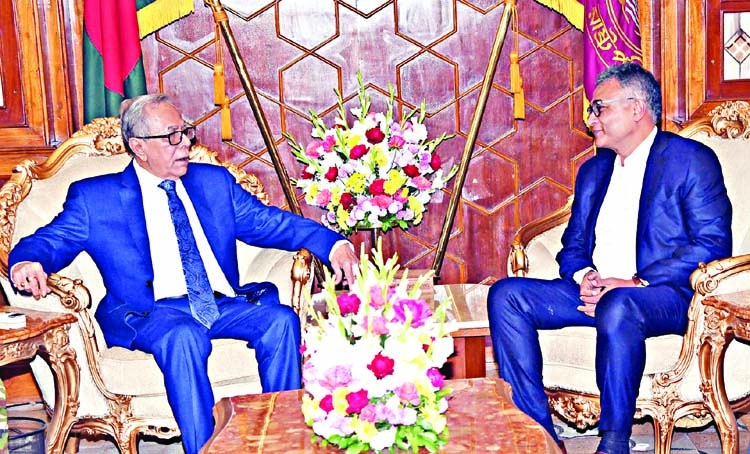 PM's new principal secretary meets President Hamid