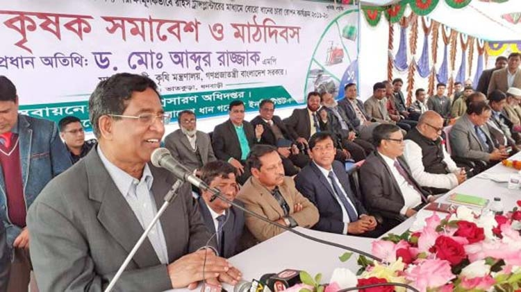'Hasina govt favorable to farmers, agriculture'