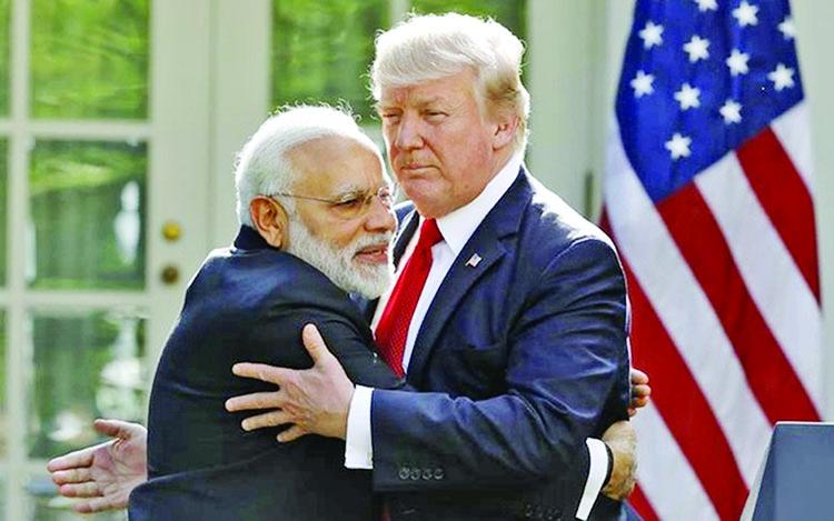 Trump consideringvisit to India
