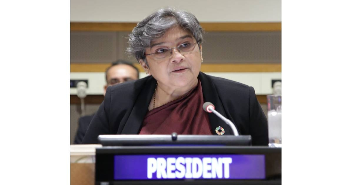 Rabab Fatima of Bangladesh elected President of UNICEF Executive Board