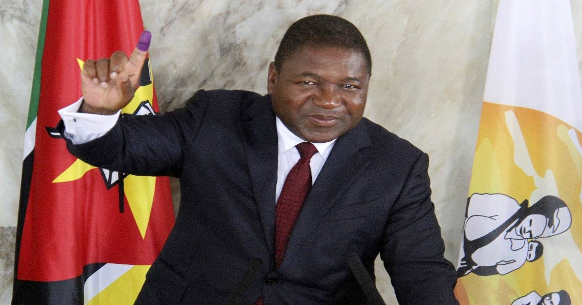 Mozambique's Nyusi begins 2nd term amid violent challenges