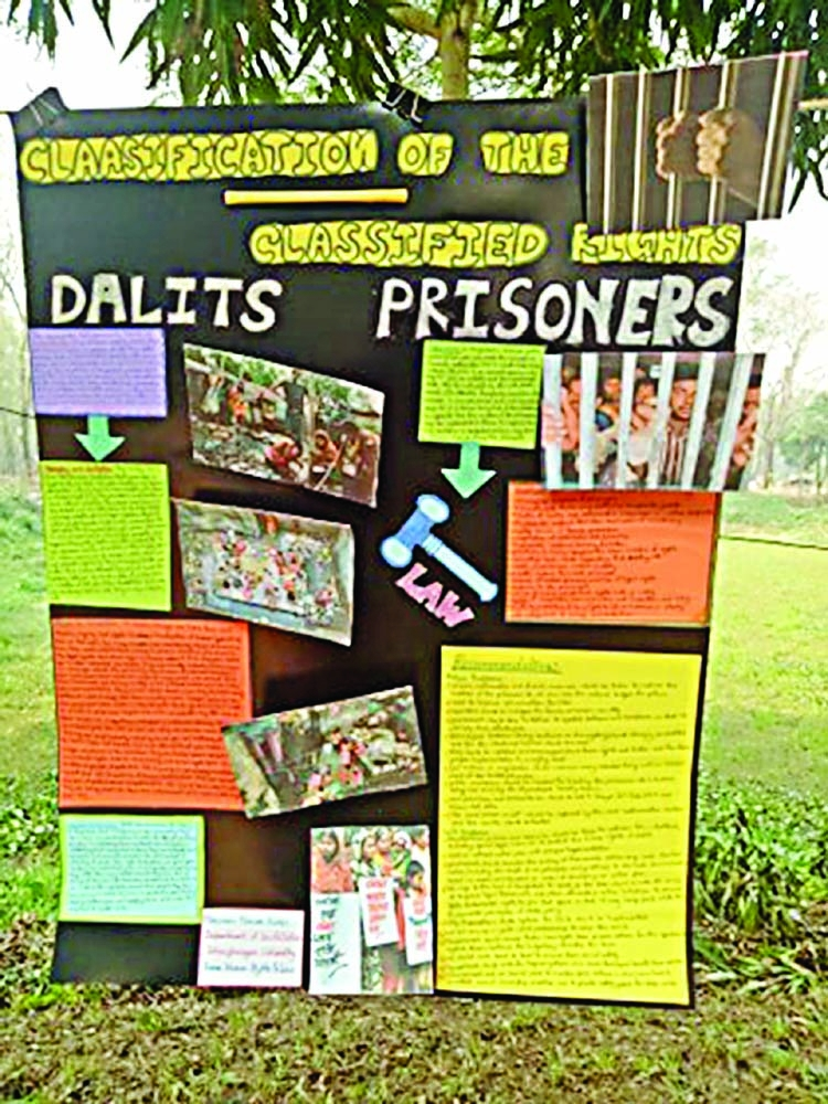 Poster competition held at JU