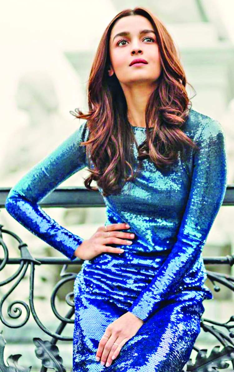 Alia Bhatt gets into character