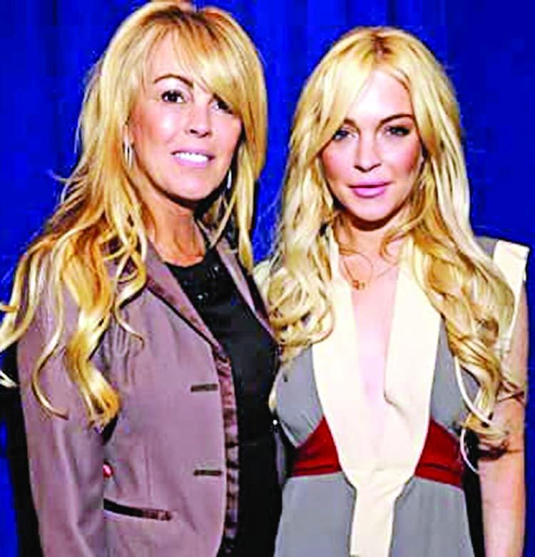 Lohan's mother Dina arrested