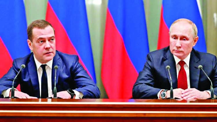 Russian premier, cabinet resign