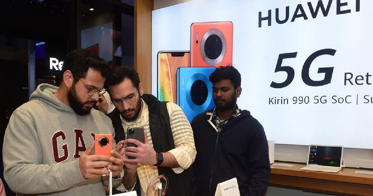 Huawei launches new-generation 5G smartphone in Kuwait
