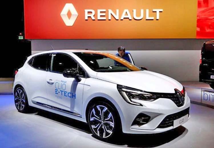 Renault expects slight 2020 car market decline
