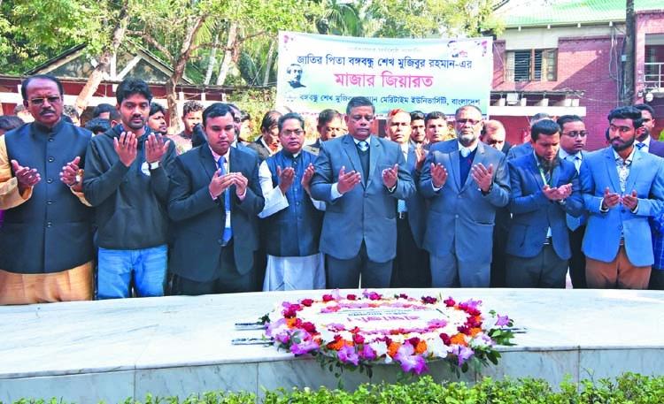 BSMRMU pays tribute to Bangabandhu at Tungipara