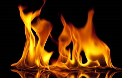 Fire at mobile showrooms in Rajshahi market
