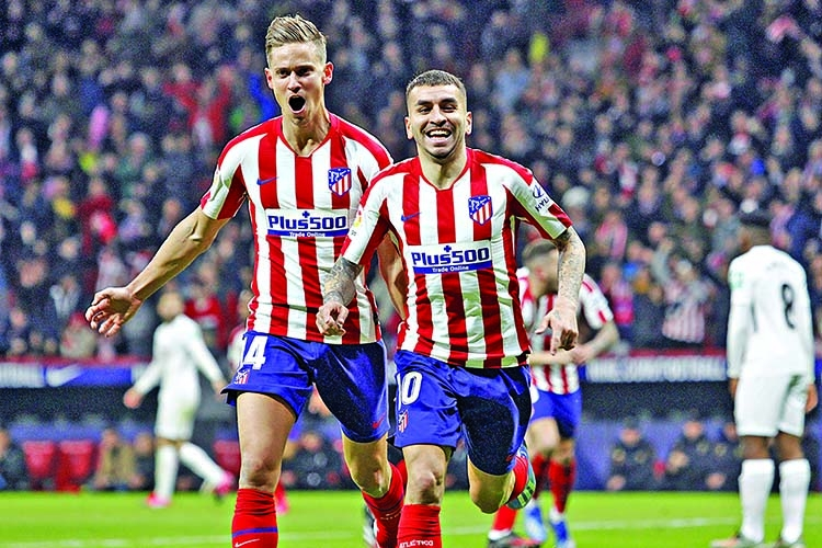 Atletico get timely victory