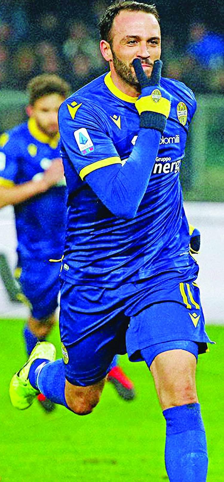 Verona shock Juve