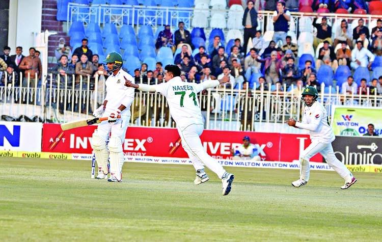 Tigers face stern test to save Rawalpindi Test