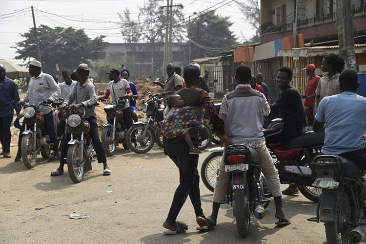 Motorcycle taxi and tricycles ban bring Lagos to a halt