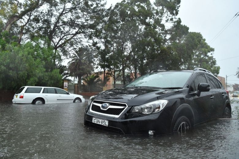 Sydney hit by heaviest rainfall in 30 years