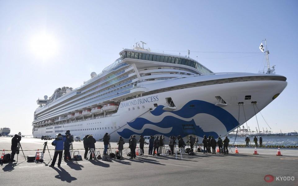 60 more coronavirus cases on Japan cruise ship; tally at 130