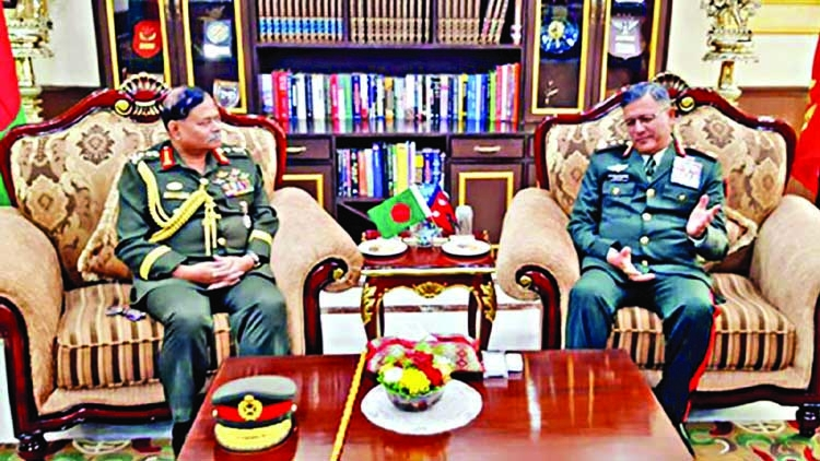 Army Chief passes busy day in Nepal