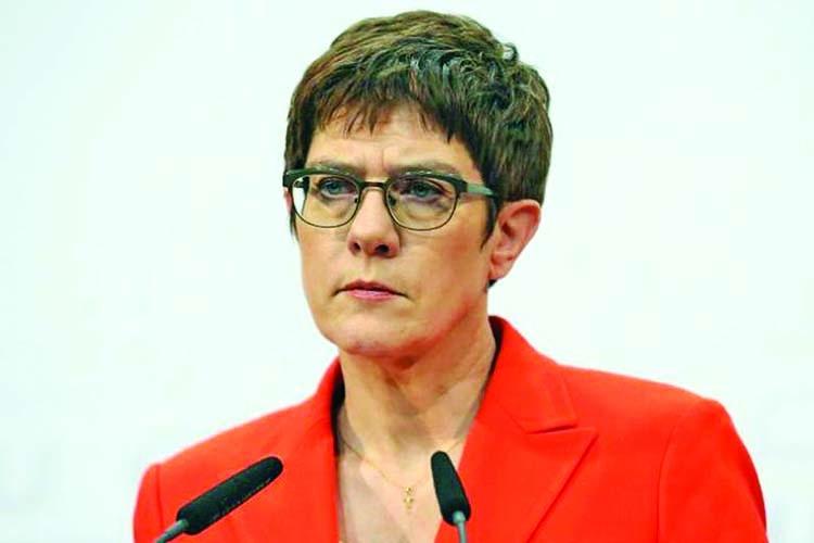 Merkel protegee Karrenbauer won't run for chancellor