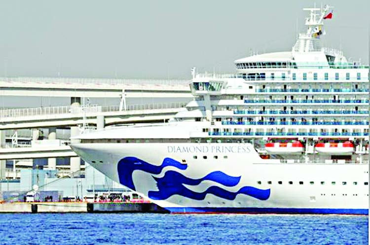 60 more confirmed with virus on cruise ship in Japan