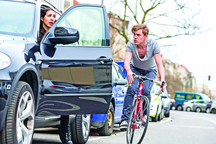 How you open your car door matters to cyclists