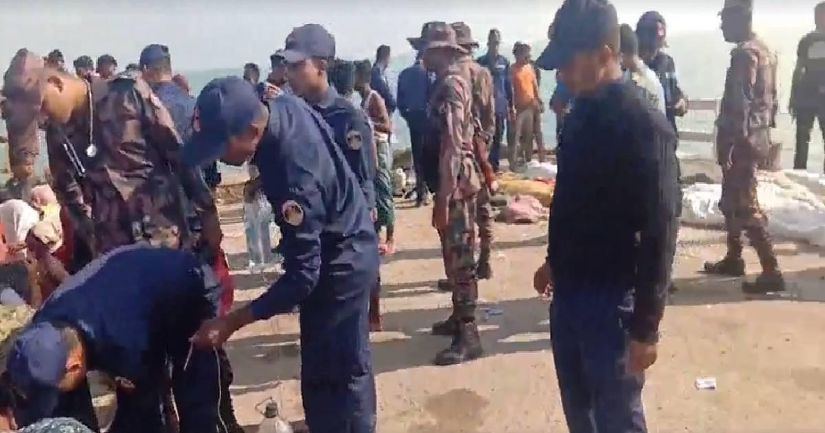 15 Rohingyas die as trawler sinks in Bay: Coast Guard
