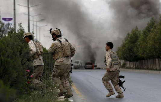 At least five dead in suicide attack in Kabul: officials