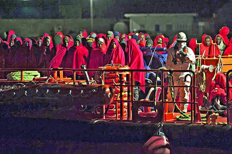 Spain rescues 119 migrants at sea