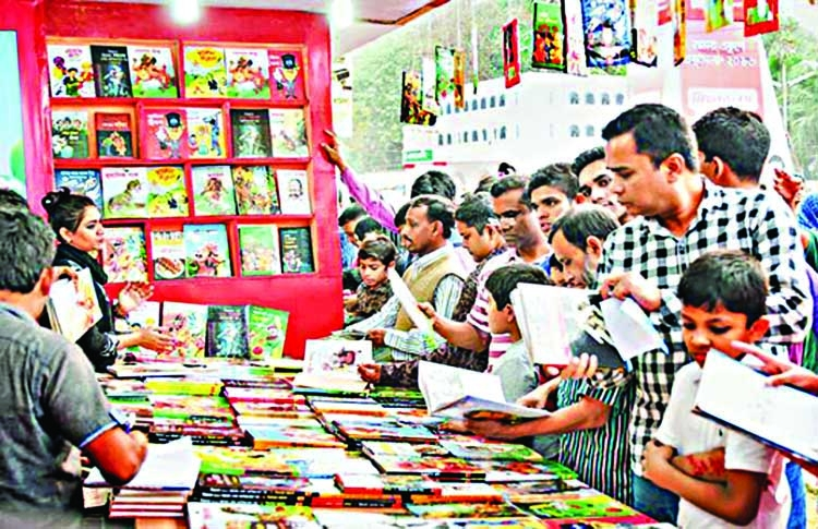 Book Fair becomes a place for youths
