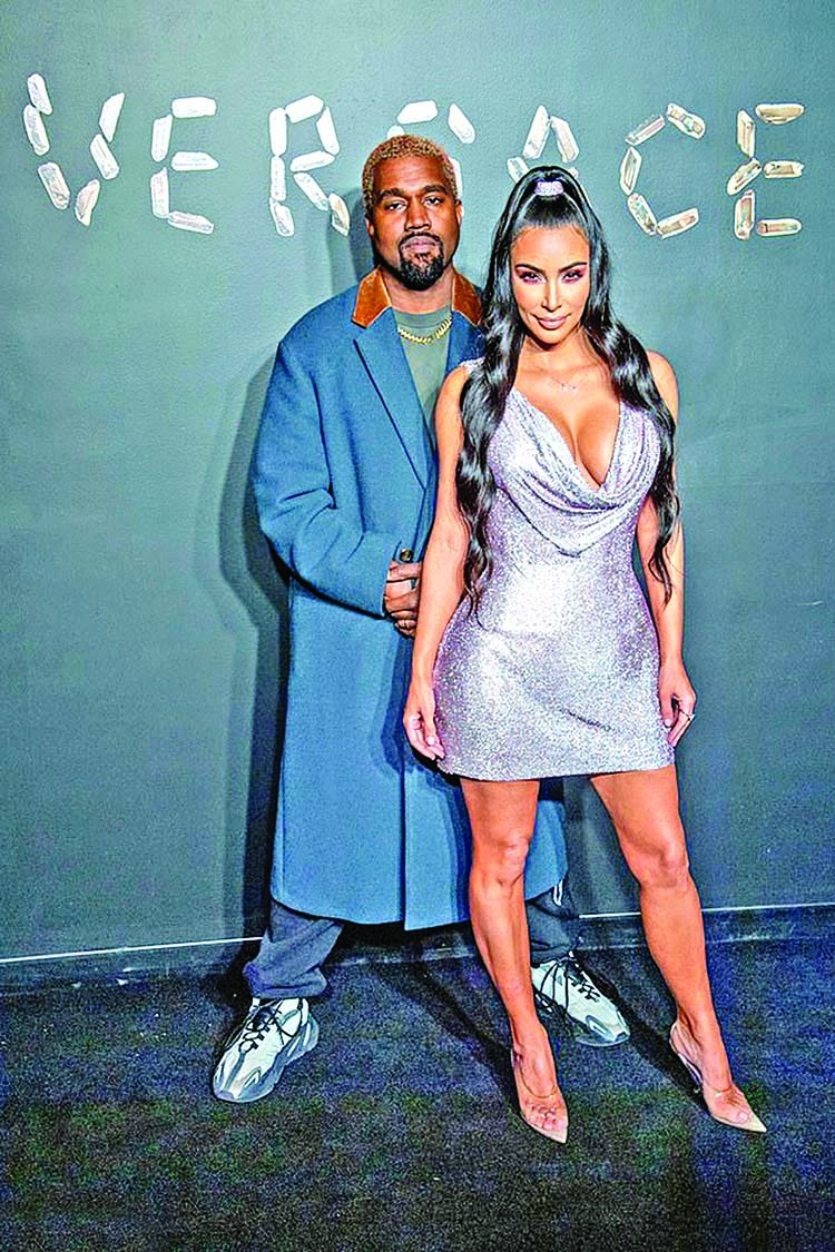 Date night for Kim, Kanye at Oscar's party