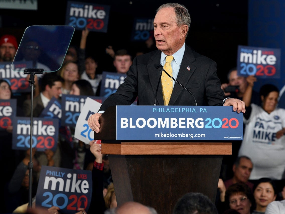 Bloomberg said 'all crime' in minority areas