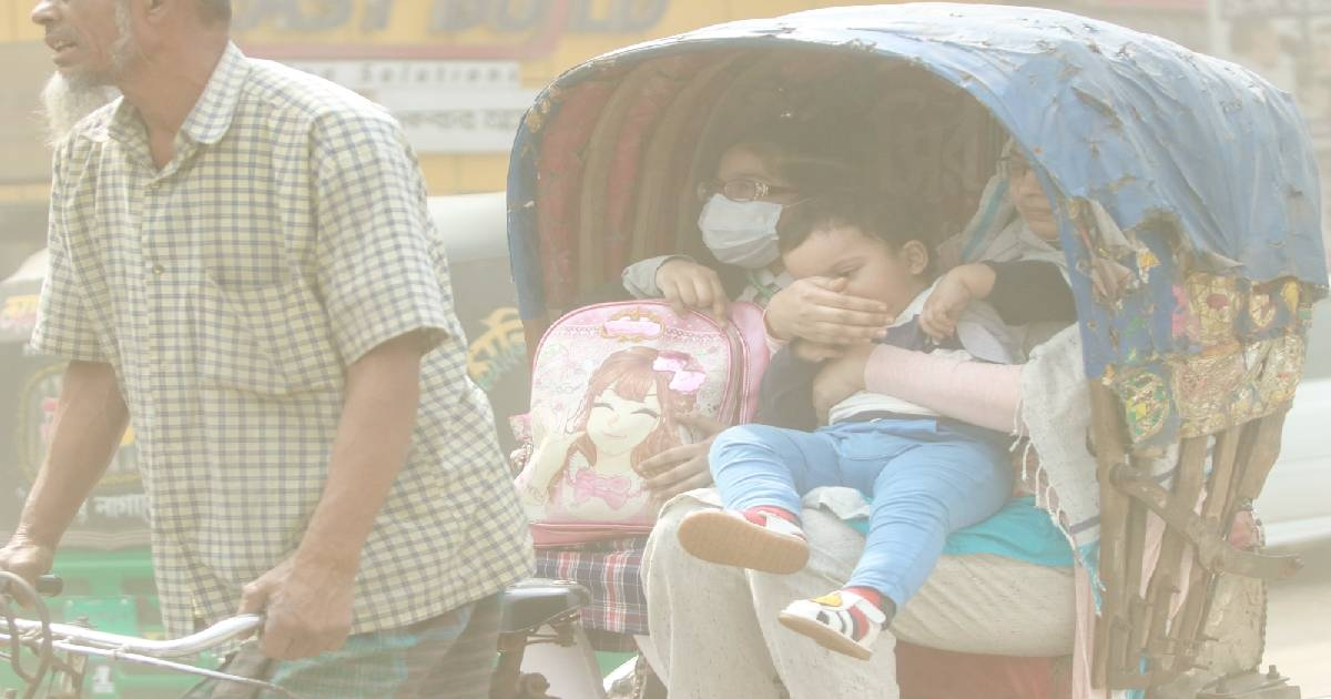 Toxic air in Dhaka