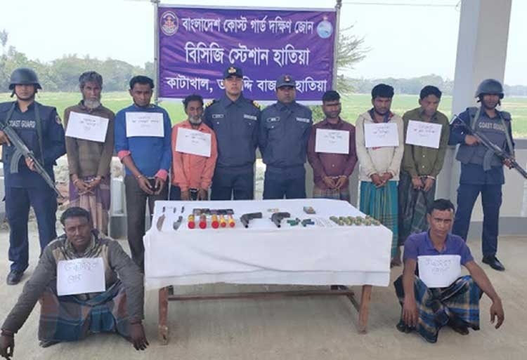 BCG frees two kidnapped fishermen in Noakhali