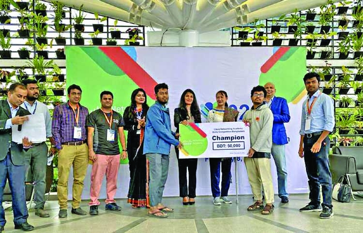 AIUB hosts CISCO networking academy skills competition