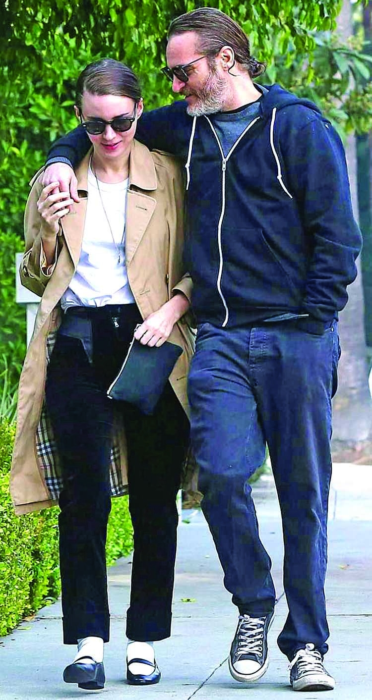 Joaquin, Mara the new royal couple of Hollywood!