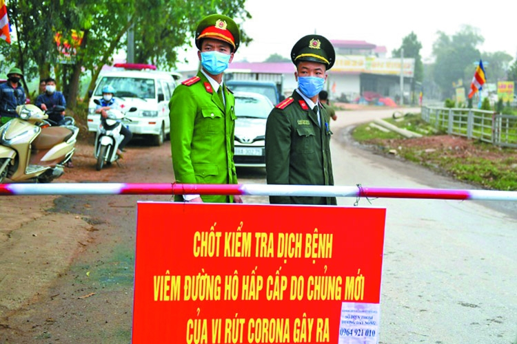 Vietnam quarantines area with 10,000 residents