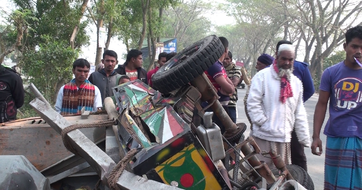 Gopalganj road crash claims five lives