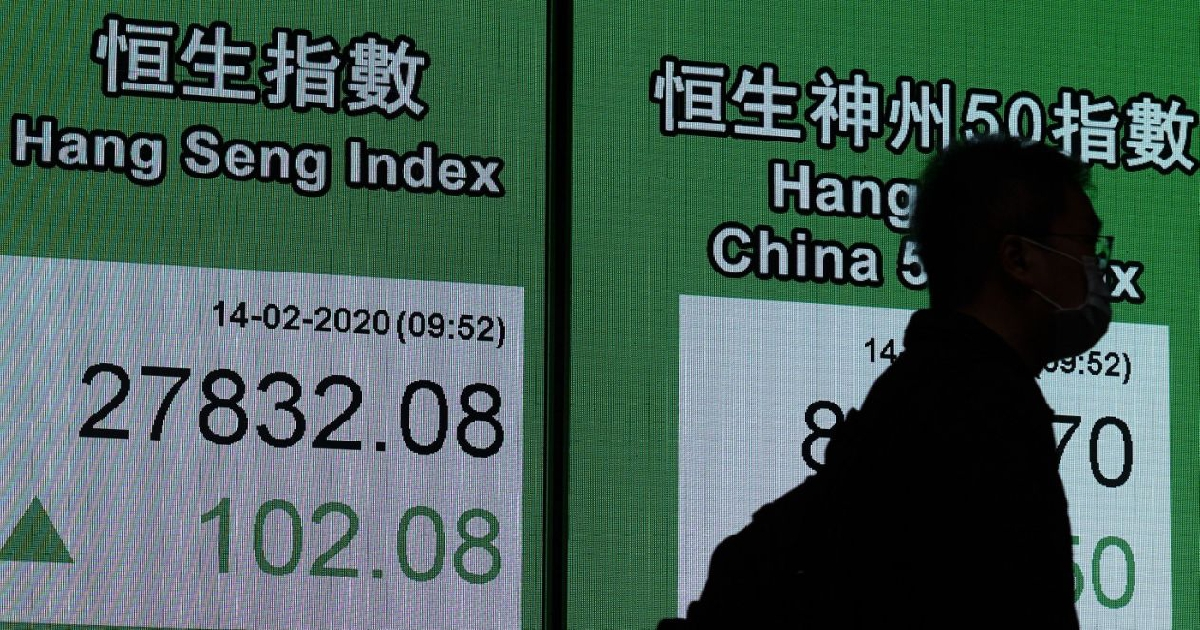 Asian stocks rebound from early losses as virus toll grows