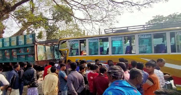 One killed in Jamalpur road accident