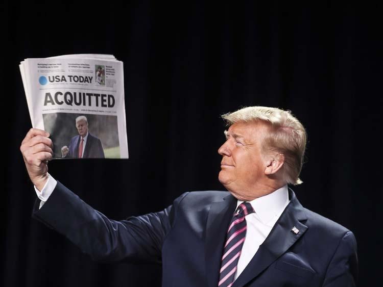 Impeachment is over, but despair remains