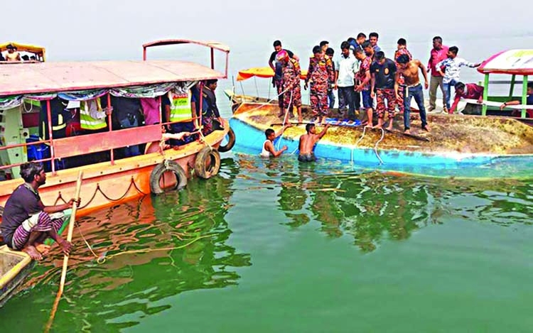 Five die in Rangamati boat disaster