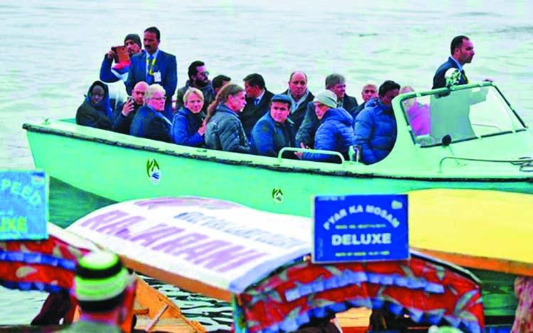 European diplomats visit Kashmir