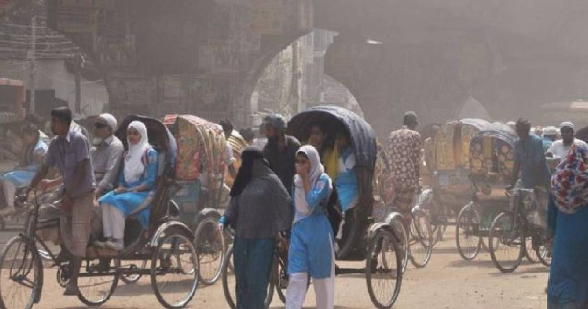 Air Quality Index: Dhaka ranks 2nd worst